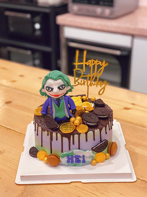 Joker Cream Cake