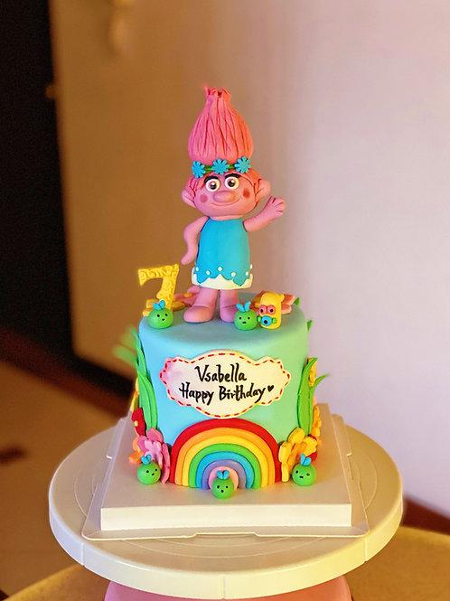 Cartoon Customized Cake
