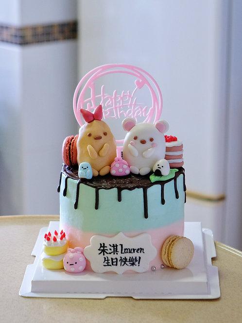角落生物生日蛋糕