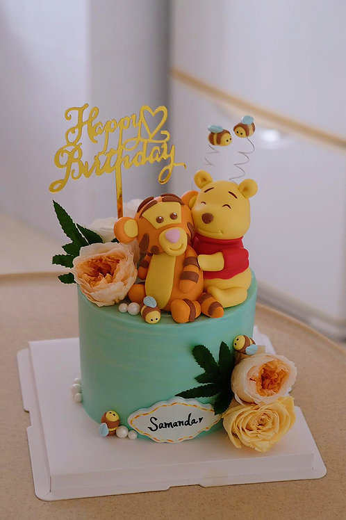 Pooh and Tiger Cake