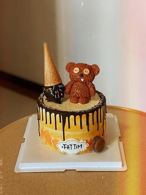 Tim the Bear Cake