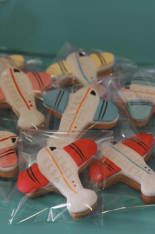 Aeroplane Cookies