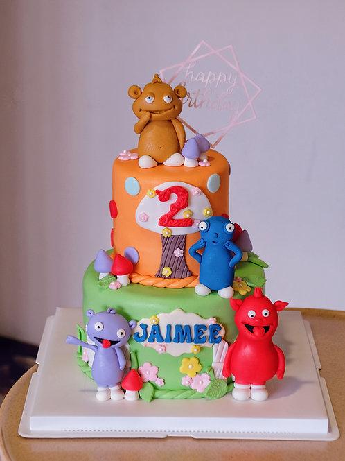 Cartoons Theme Cake