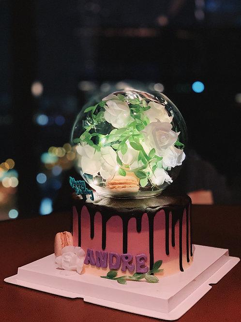 Macaroon & Flower Globe