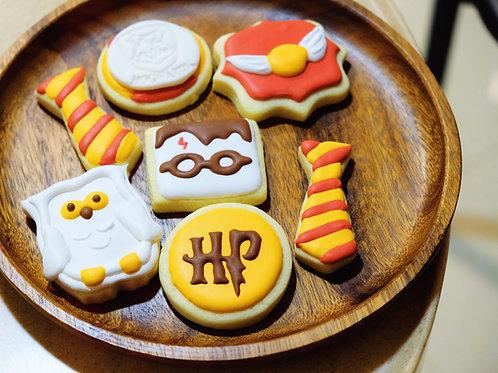 Harry Potter Sugar Paste Cookies