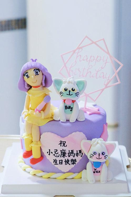 小忌廉 Birthday Cake