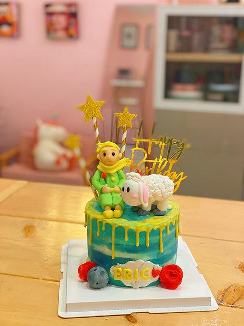 Little Prince Cream Cake