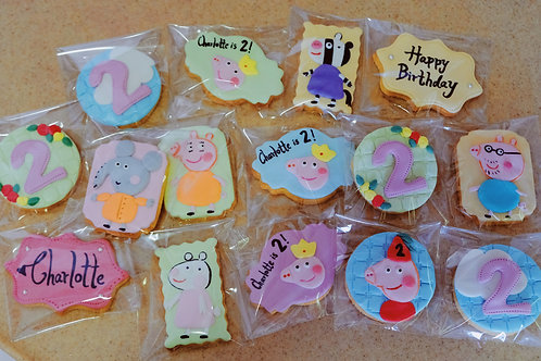 Peppa Pigs Cookies