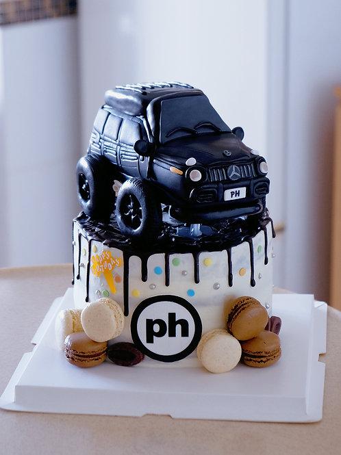 Fondant Car Cake