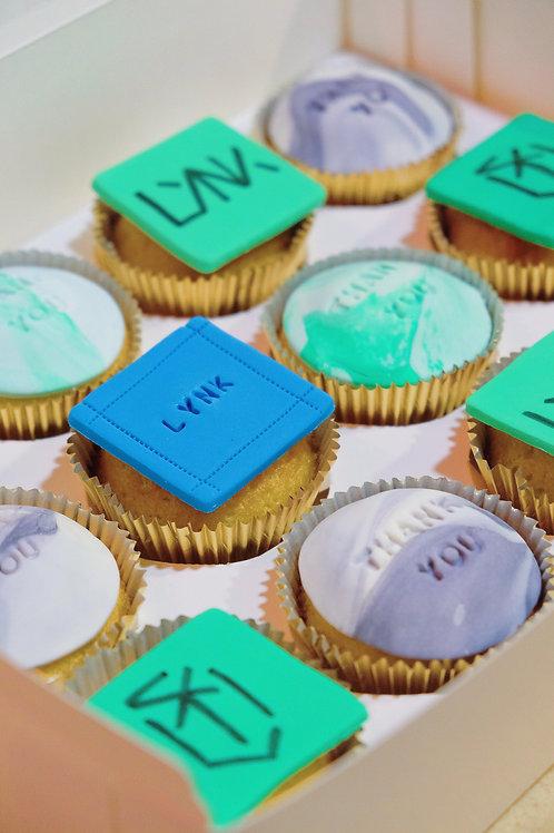 LYNK Farewell Cupcakes