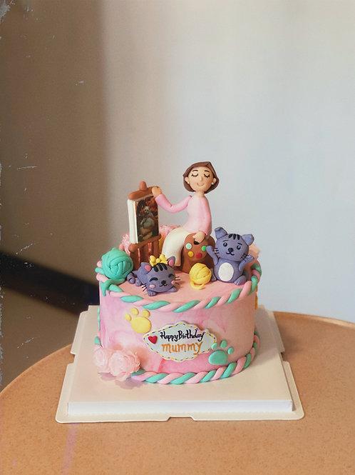 Customized themed Cake