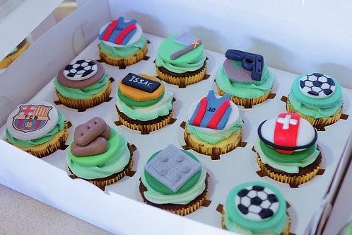 Fort Nite Cupcakes
