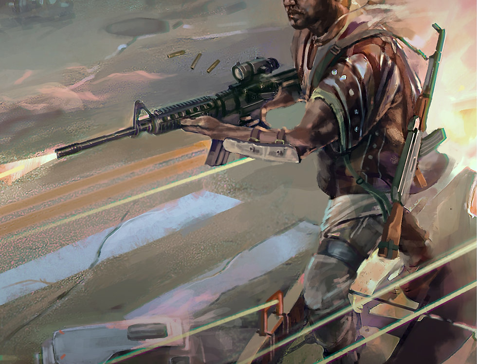 Gunman's Peace Mobi