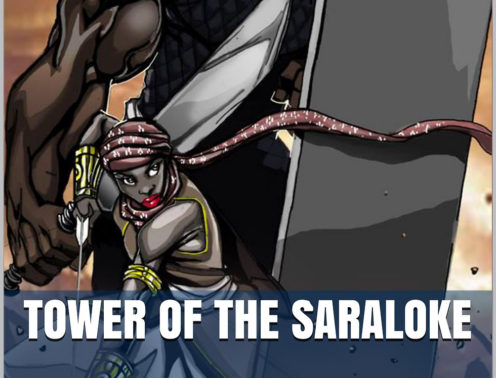 Tower of the Saraloke -EPUB