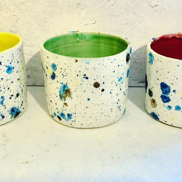 Small Confetti Pots £14 each