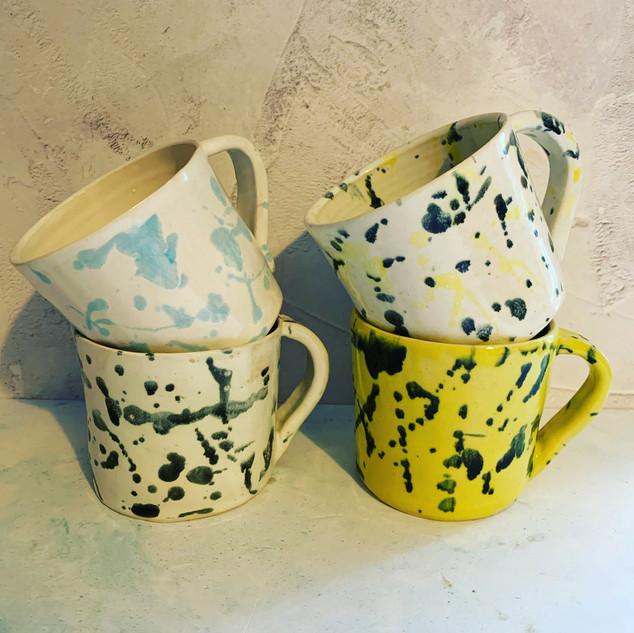 Paint Splatter Mugs £15 each