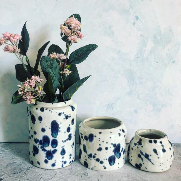 Bud vase £12, Small vase £16, medium vase £18