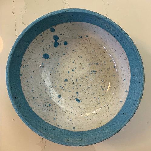 Blue Speckle Fruit Bowl