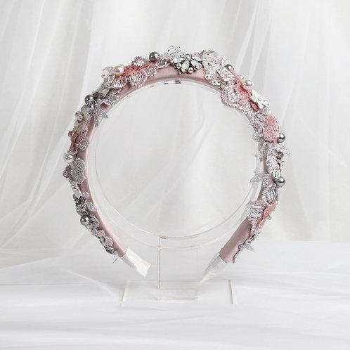 Pink Bridal Headband