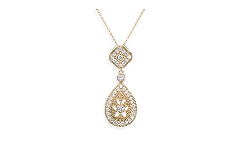 Moonstruck Gold Pendant By Ivory & Co