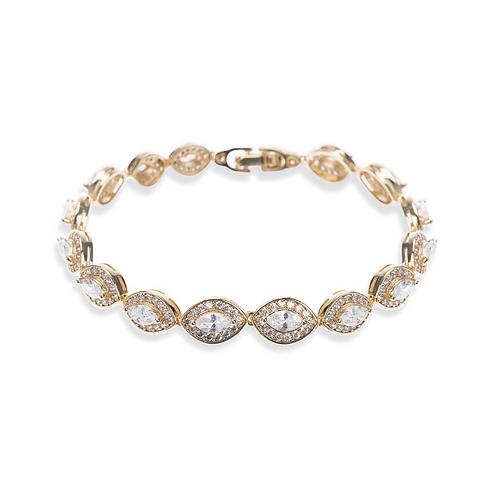 Promise Gold Bracelet By Ivory & Co
