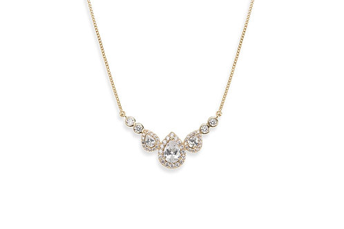 Sorbonne Gold Pendant By Ivory & Co