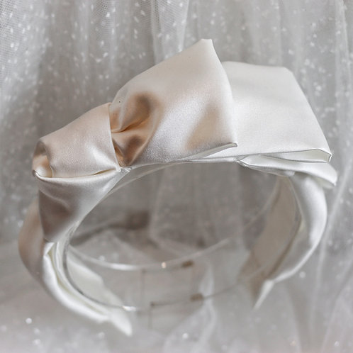 Ivory Wedding Headband