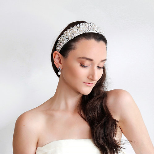Opal Bridal Headband