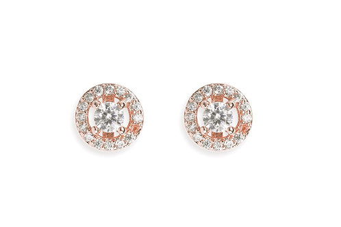 Balmoral Rose Earrings By Ivory & Co