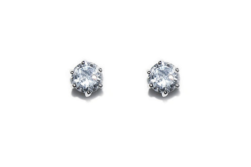 Solitaire Earrings