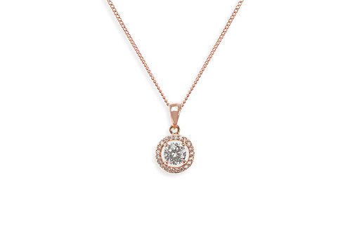 Balmoral Rose Pendant By Ivory & Co