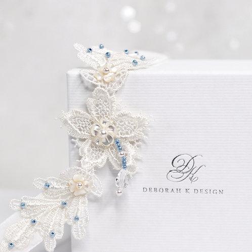 Ivory Lace Bridal Garter