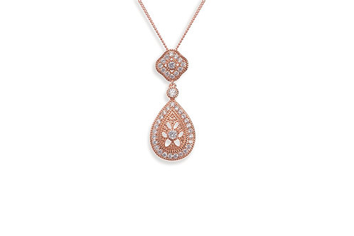 Moonstruck Rose Pendant By Ivory & Co