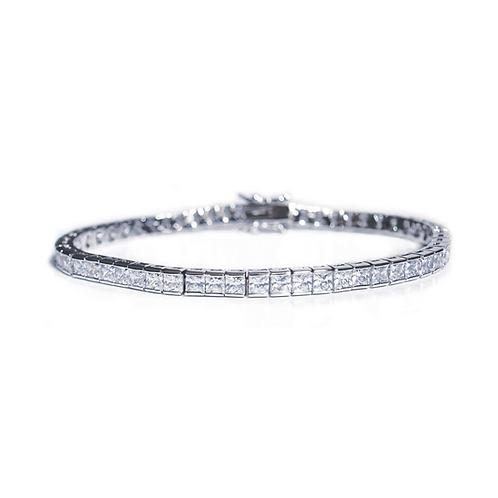 Elegance Silver Bracelet By Ivory & Co