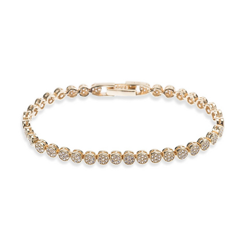 Modena Gold Bracelet By Ivory & Co