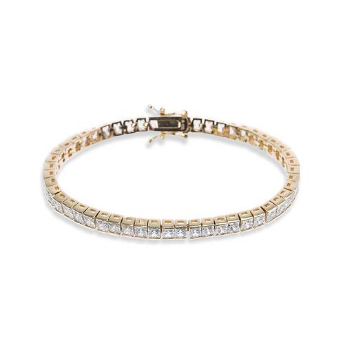 Elegance Gold Bracelet By Ivory & Co