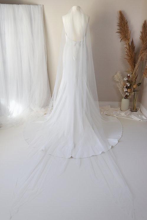 Verona Ponytail Veil
