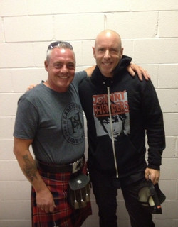 with Hugh Dillon