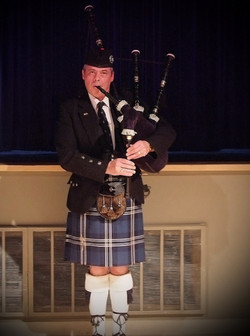 Piping at Dance Recital
