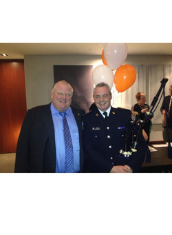 with mayor Rob Ford