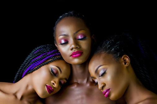 3 Black women with beautiful makeup.jpg