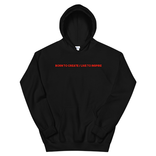 Genius Picaso (Born to Create / Live to Inspire)   Hoodie