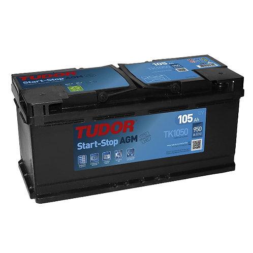 Batería de coche TUDOR 105Ah+D STAR-STOP 950EN 12V