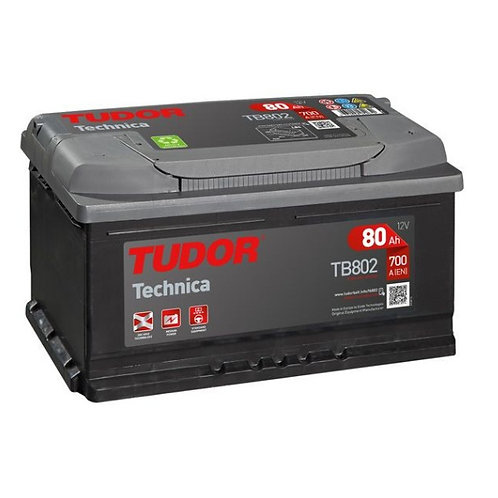 Batería de coche TUDOR 80Ah+D 700EN 12V