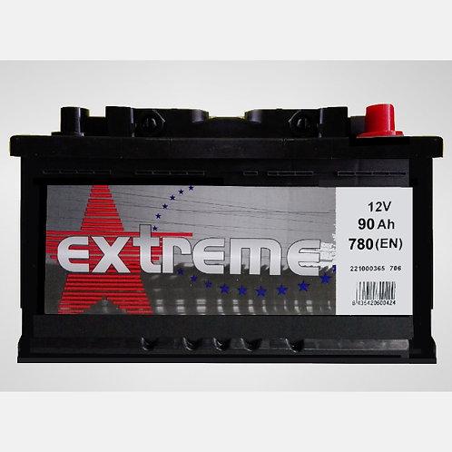 Batería de coche EXTREM 90Ah+D 780EN 12V
