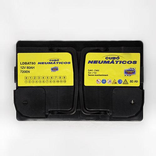 Batería de coche CUBÓ 80Ah +D 720EN 12V