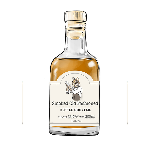 Smoked Old Fashioned  200ml