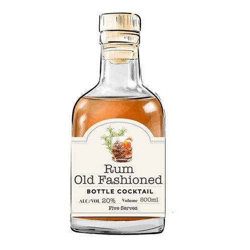 Rum Old Fashioned 500ml