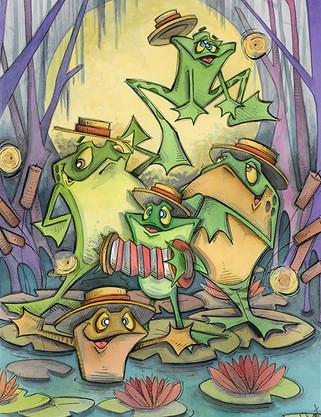 Froggy Froggy Night