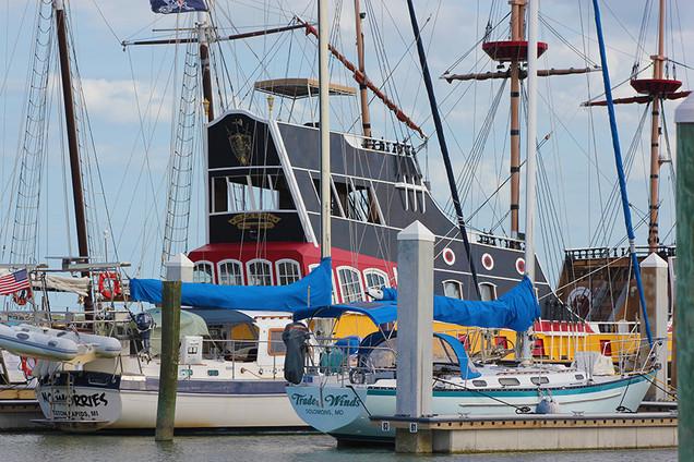 Pirate Ship at St. Augustine Marine, FL